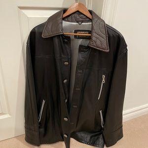 Leather Jacket Italian Made